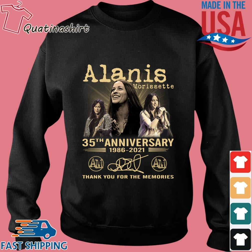 Alanis Morissette 35th Anniversary 1986-2021 Thank You Shirt Sweater den