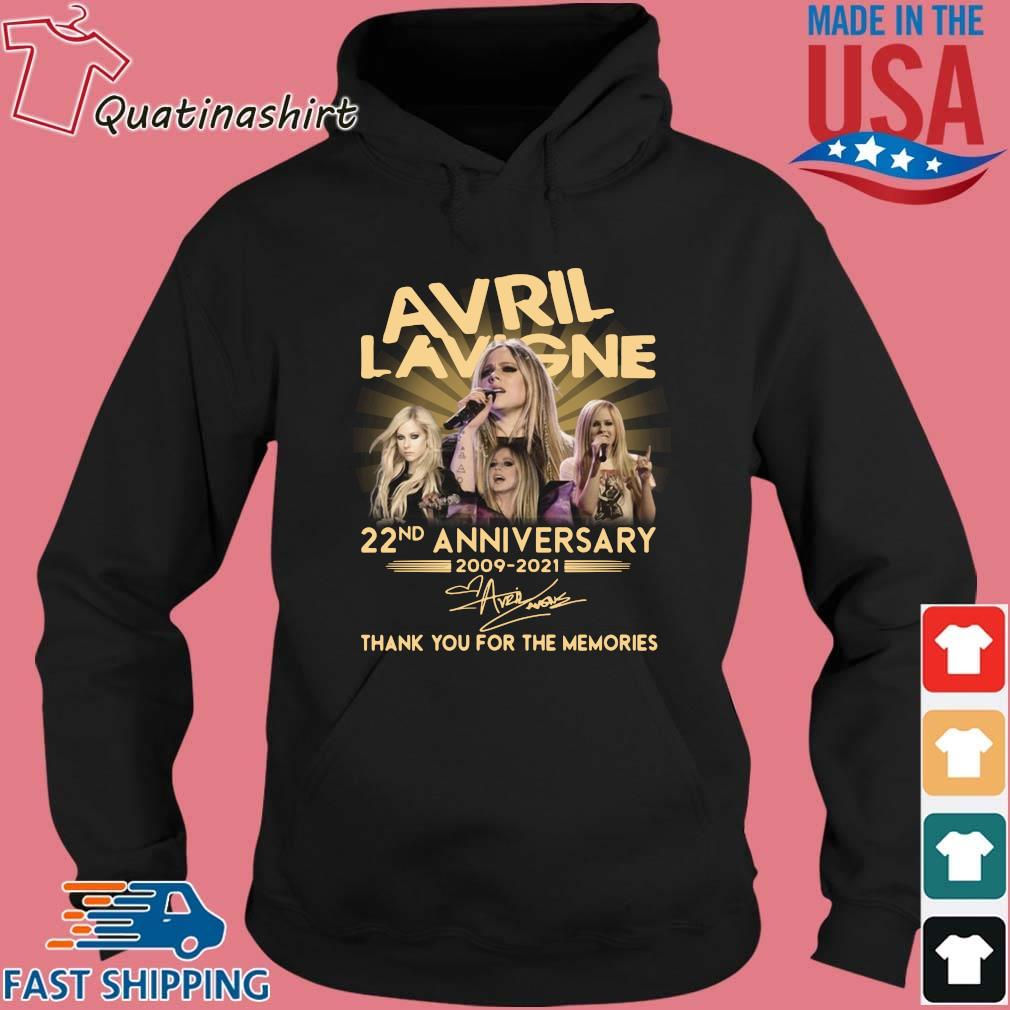 Avril Lavigne 22nd Anniversary 2009 2021 Signature Thank You Shirt Hoodie den