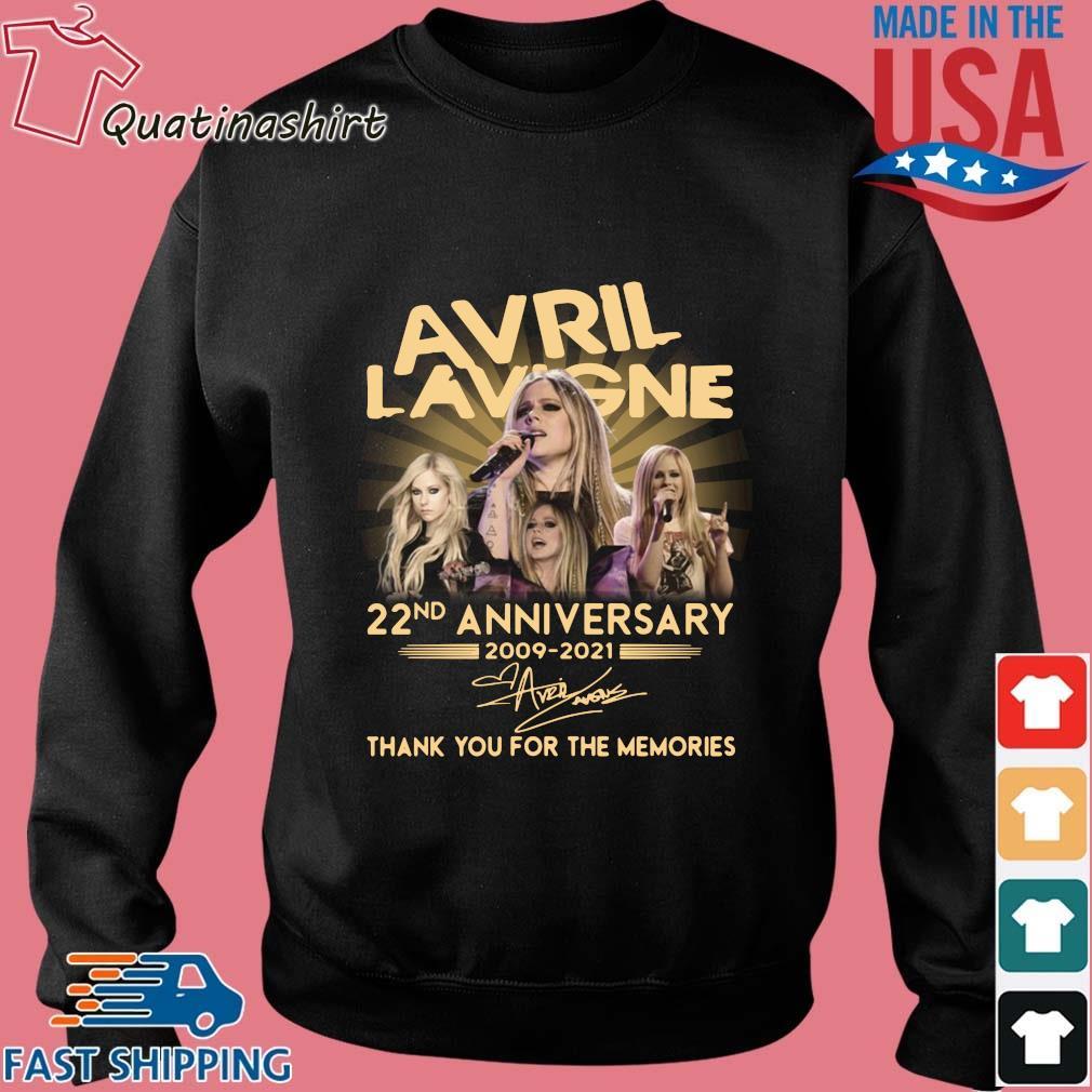 Avril Lavigne 22nd Anniversary 2009 2021 Signature Thank You Shirt Sweater den
