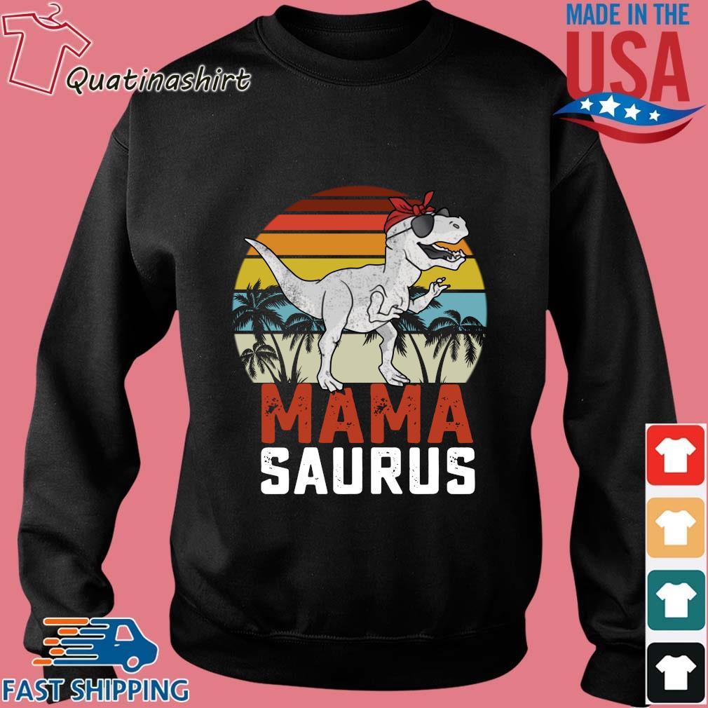 Dinosaurus T-Rex Mama Saurus Vintage Sunset Shirt Sweater den