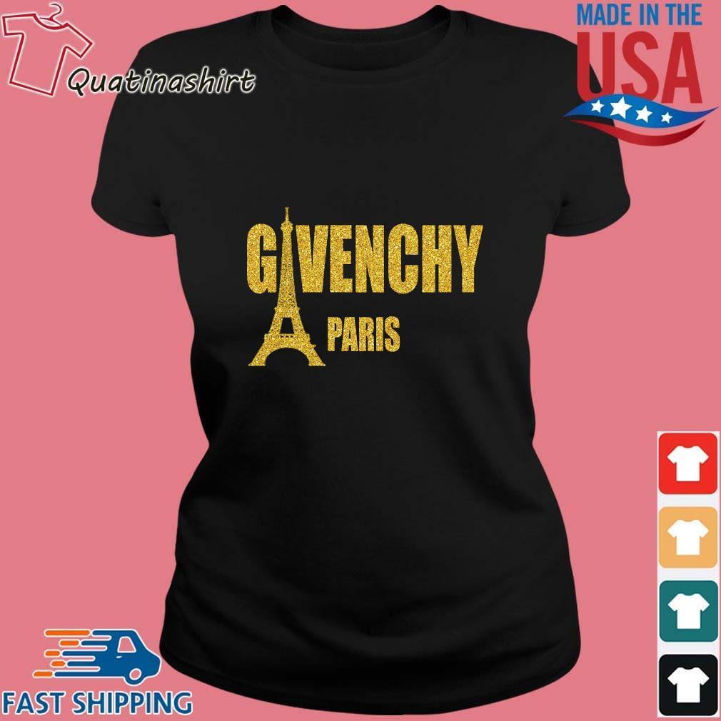 Givenchy Paris Eiffel Tower Shirt Ladies den