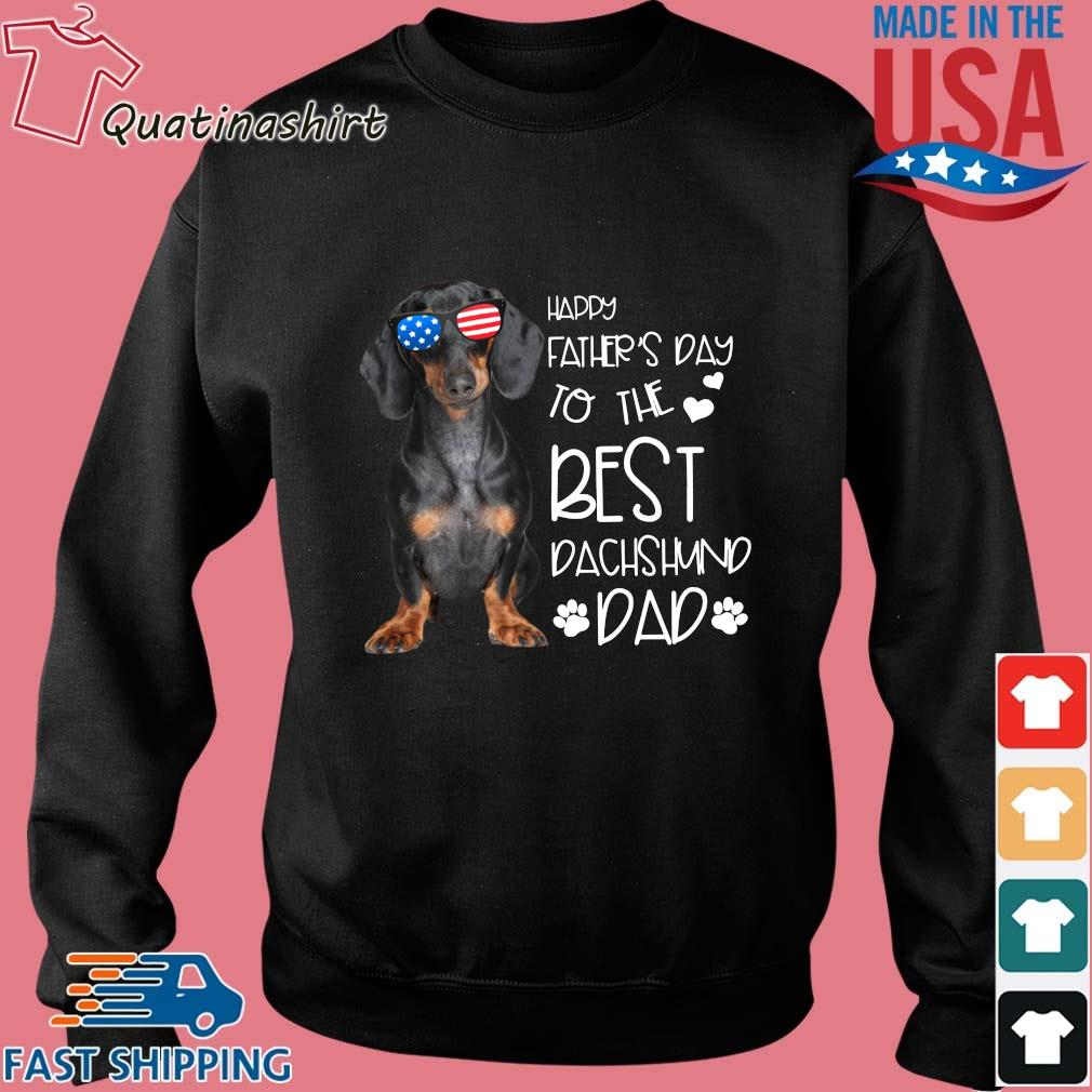 Happy father's day to the best dachshund dad s Sweater den