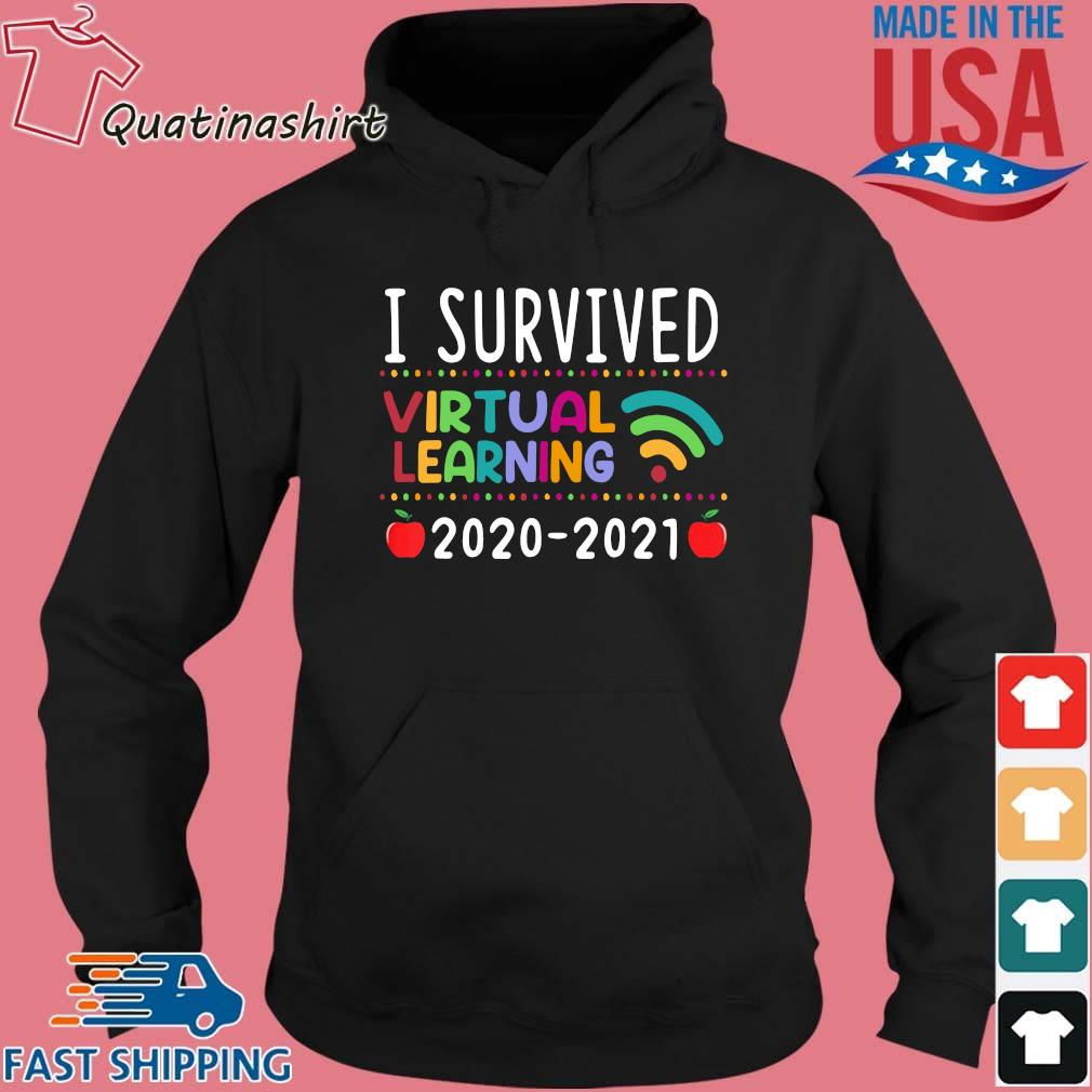 I Survived Virtual Learning 2020-2021 Shirt Hoodie den