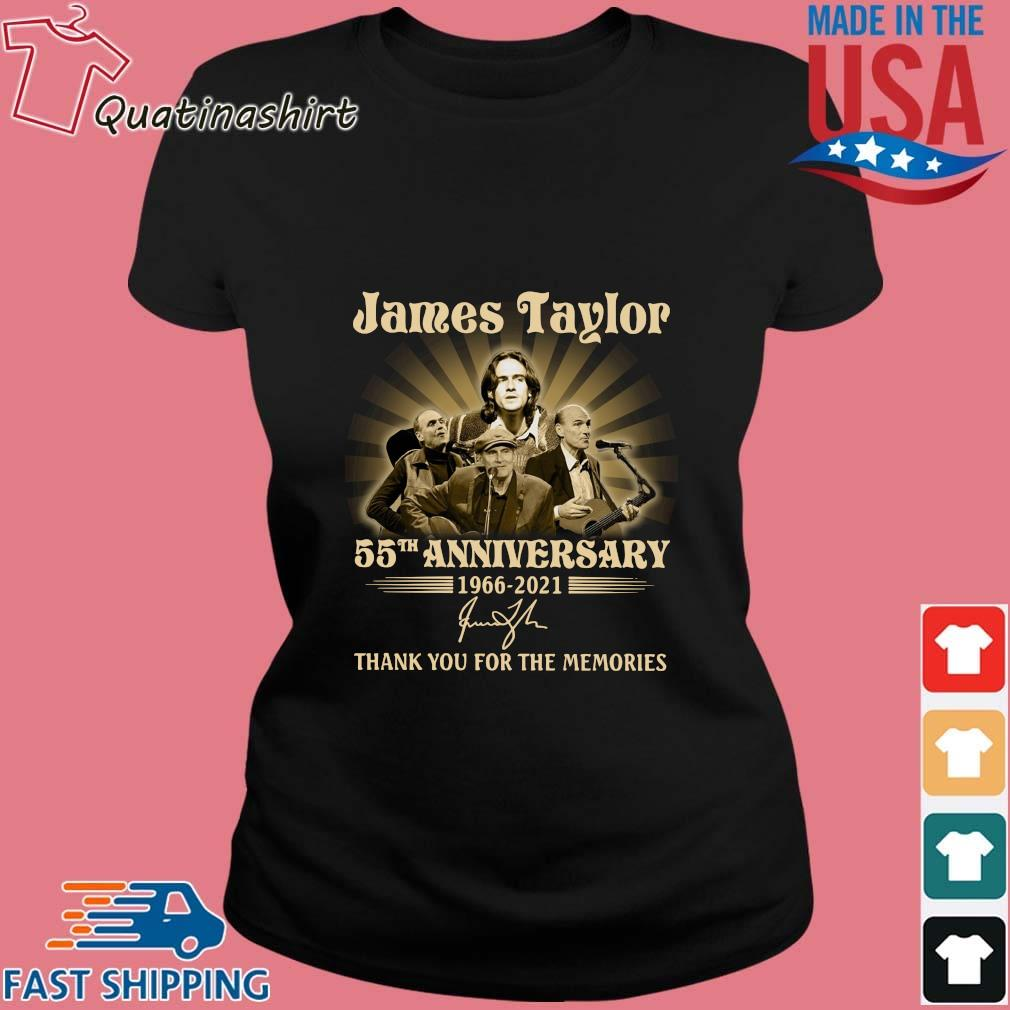 James Taylor 55th anniversary 1966-2021 thank you for the memories signature s Ladies den