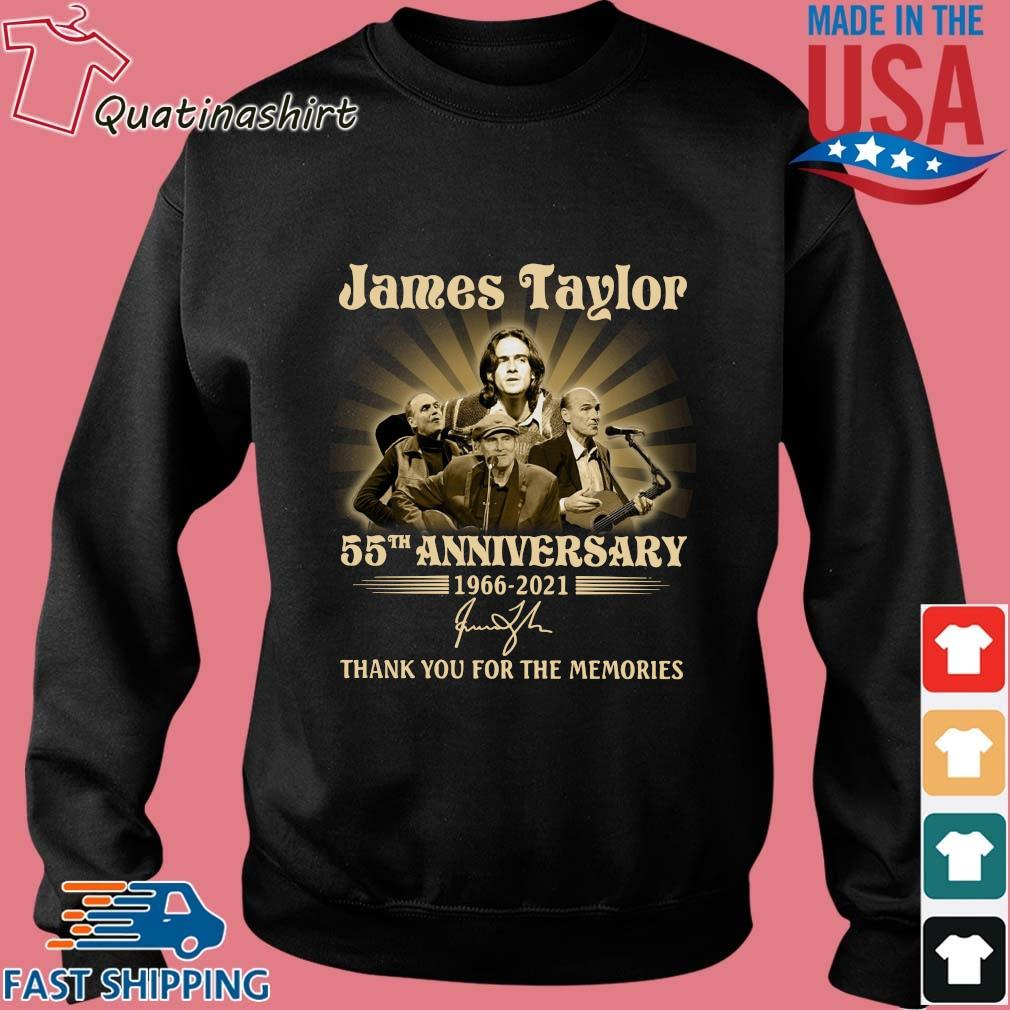 James Taylor 55th anniversary 1966-2021 thank you for the memories signature s Sweater den
