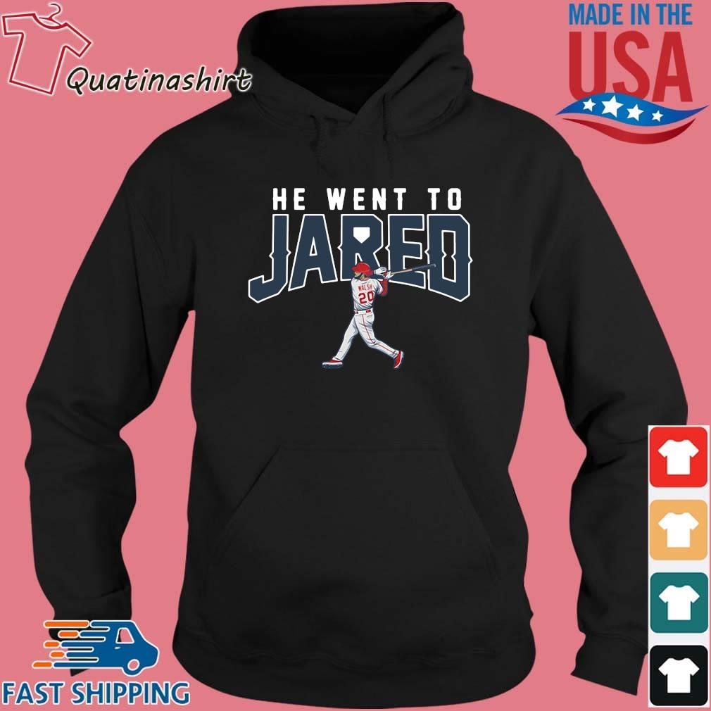Jared Walsh He Went to Jared Apparel Shirt Hoodie den