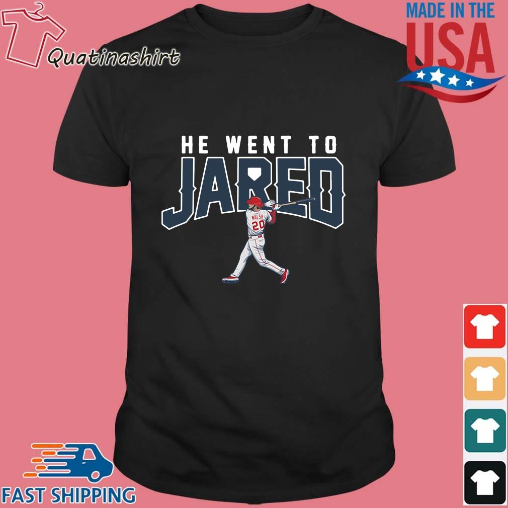 Jared Walsh He Went to Jared Apparel Shirt