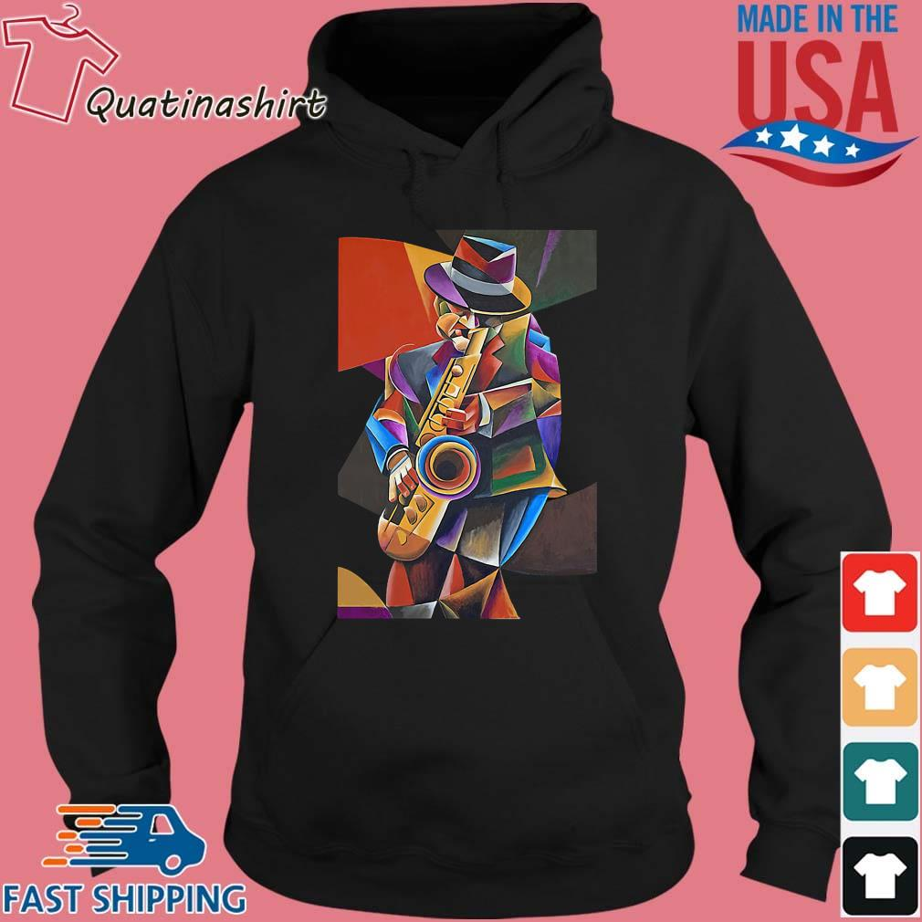 Jazz Sax Painting By Bob Gregory Shirt Hoodie den