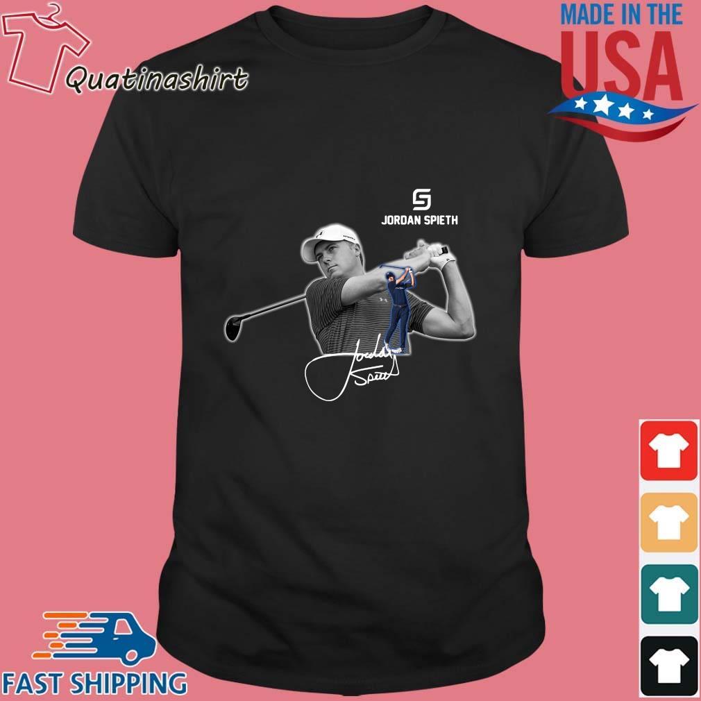 Jordan Spieth Golfer signature shirt