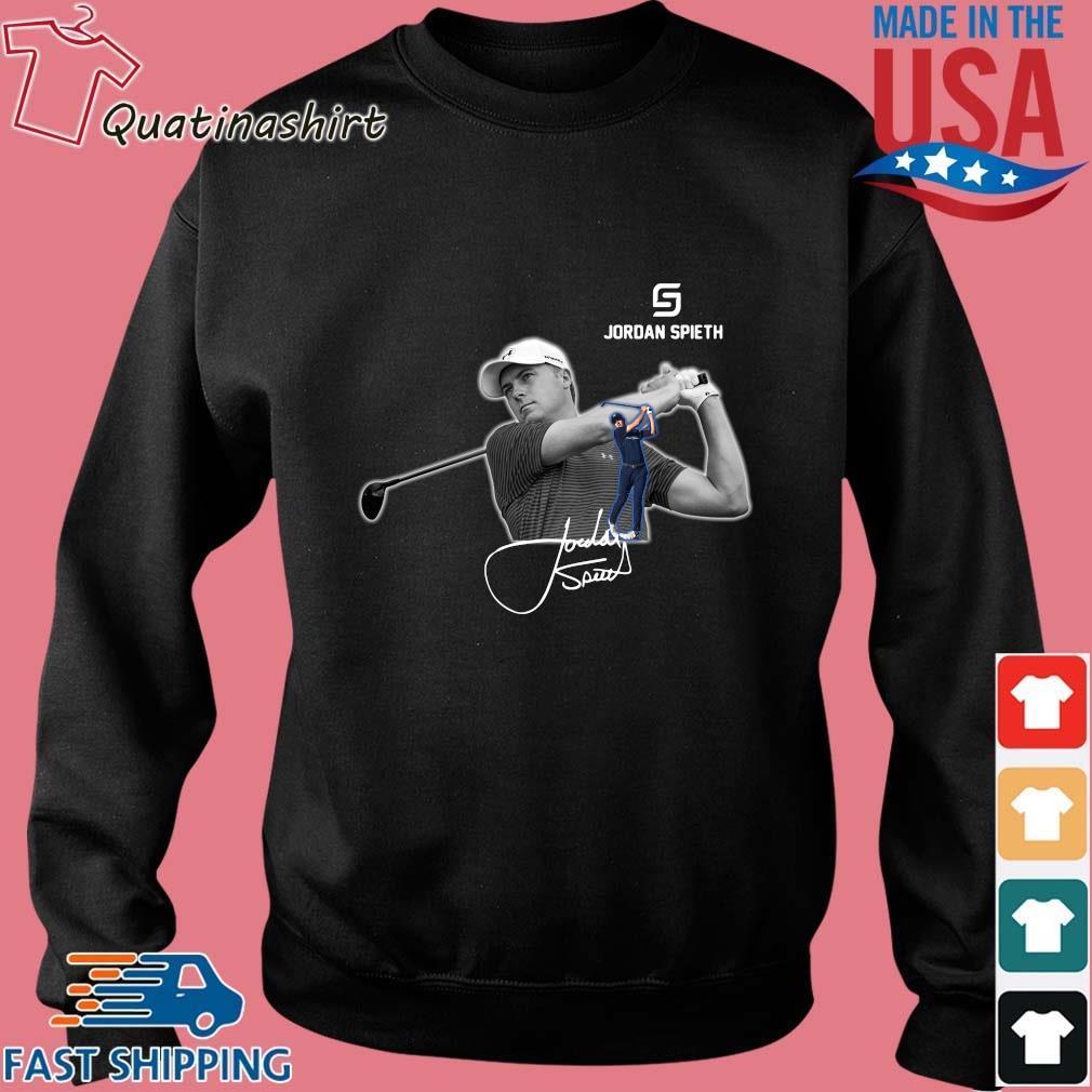 Jordan Spieth Golfer signature s Sweater den