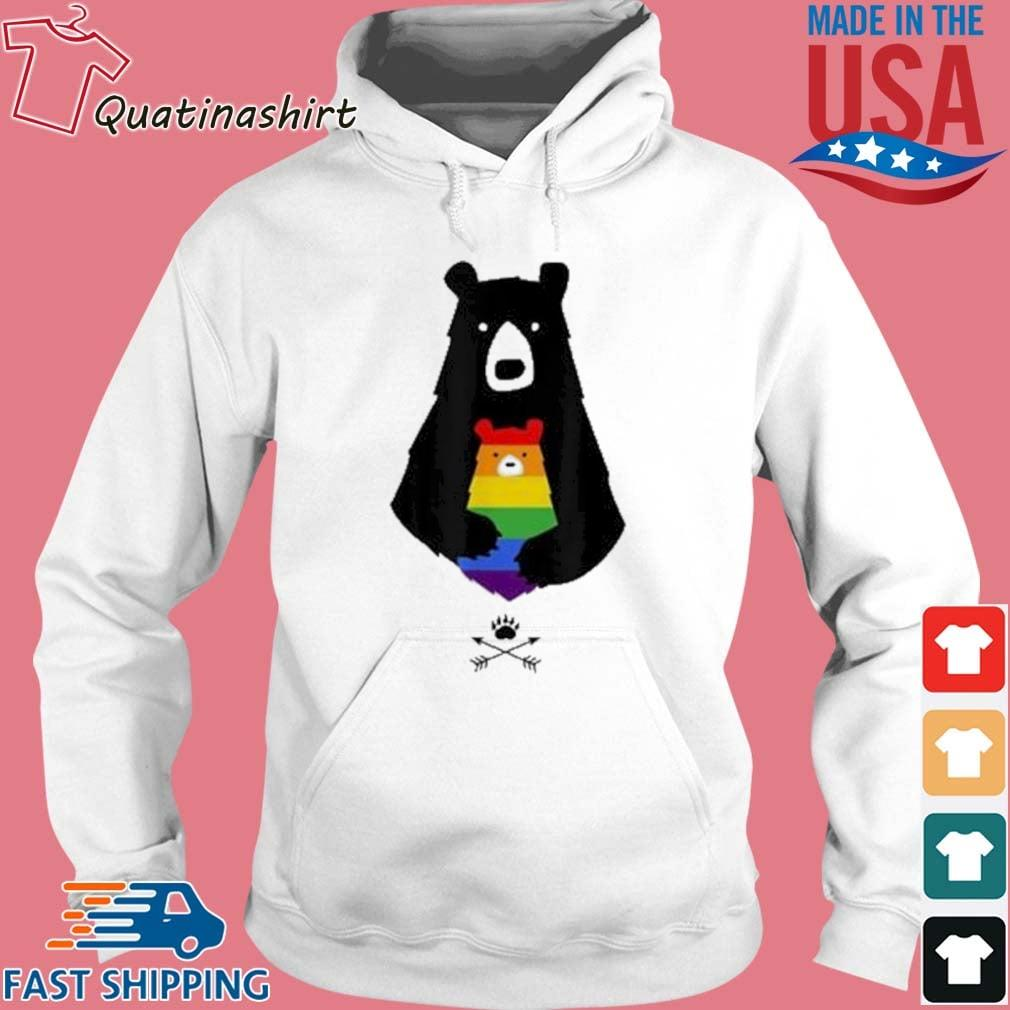 LGBT Mom Mama Bear Shirt Hoodie trang
