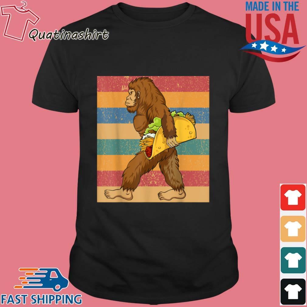 Mens Cinco De Mayo 5 Bigfoot Taco De Mayo Fiesta Vintage Shirt