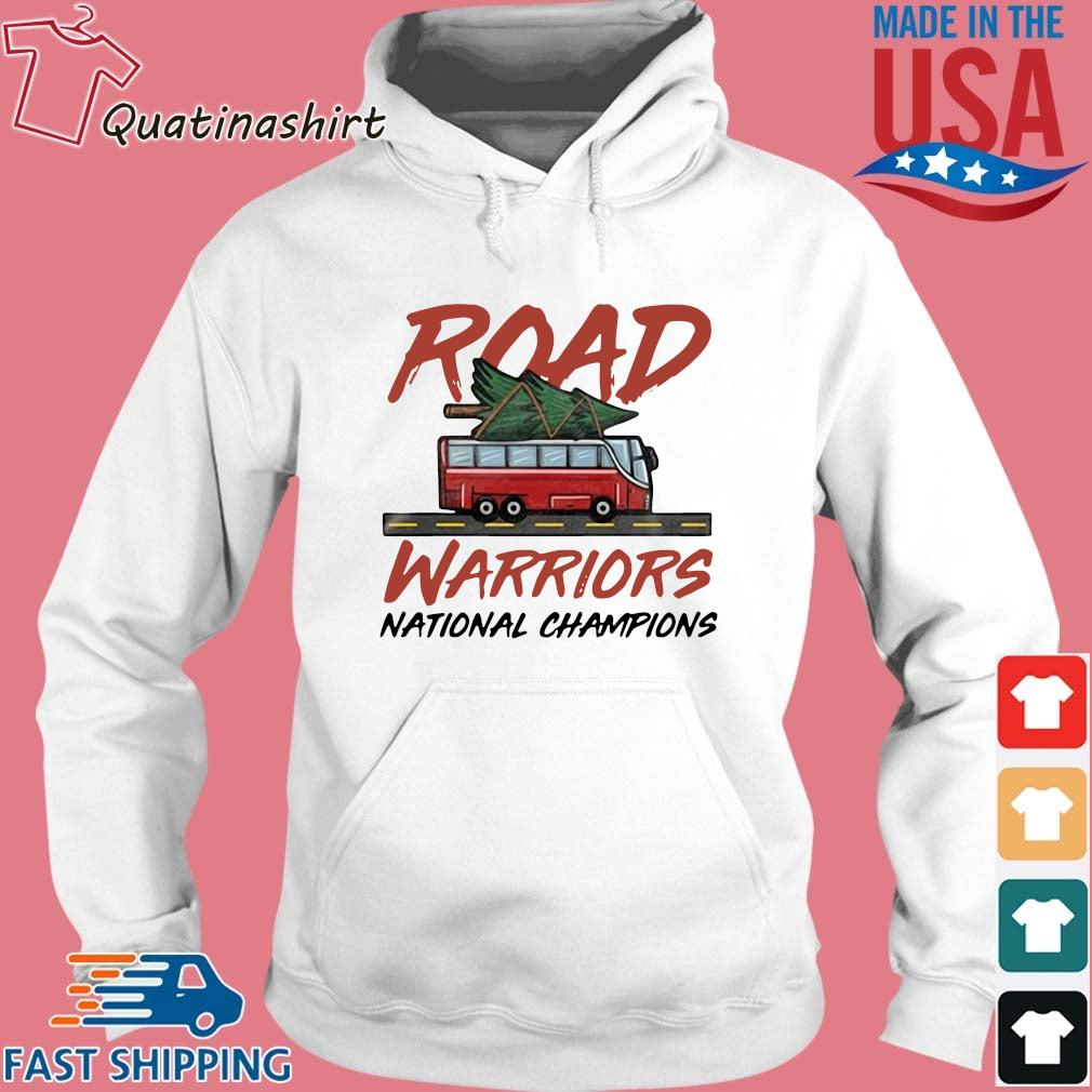 Road Warriors National Champions Shirt Hoodie trang