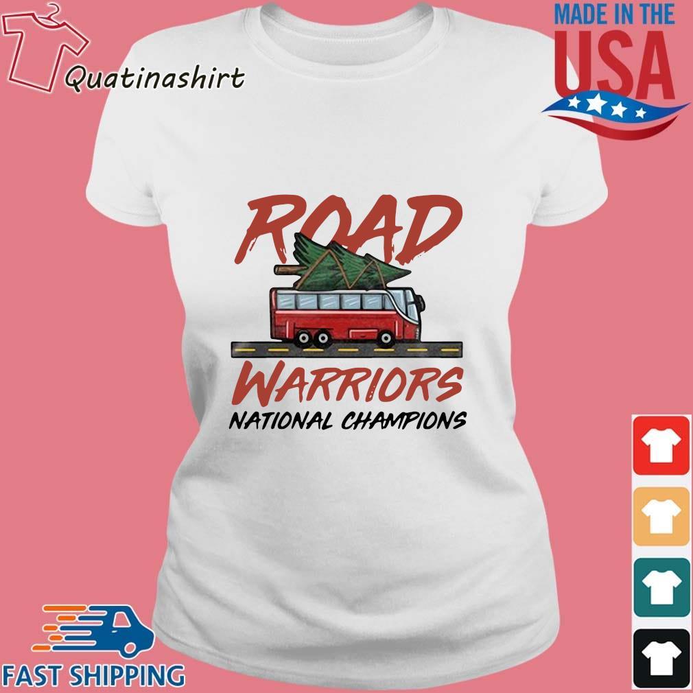 Road Warriors National Champions Shirt Ladies trang