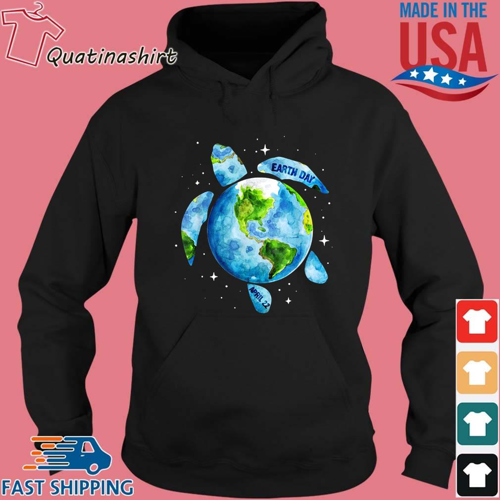Sea turtle planet love world environment earth day s Hoodie den