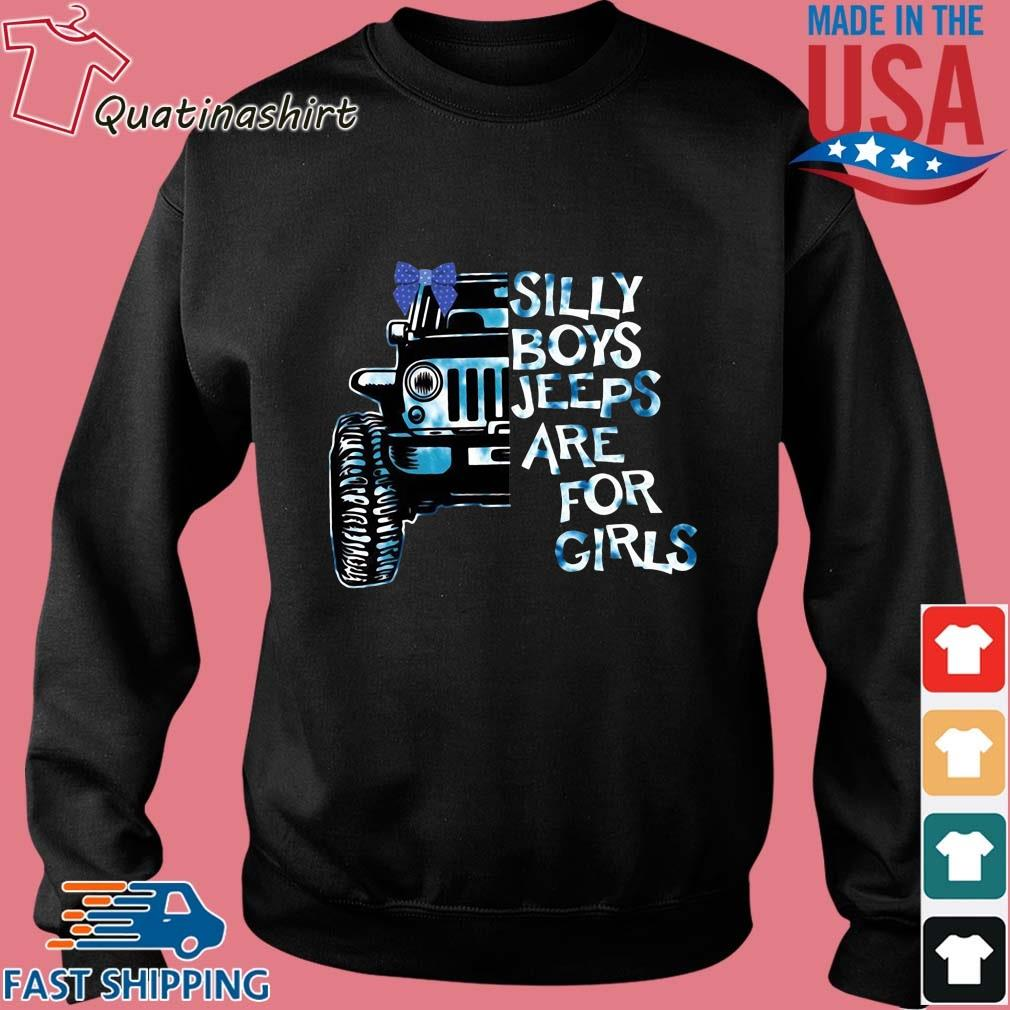Silly boys jeeps are for girls s Sweater den