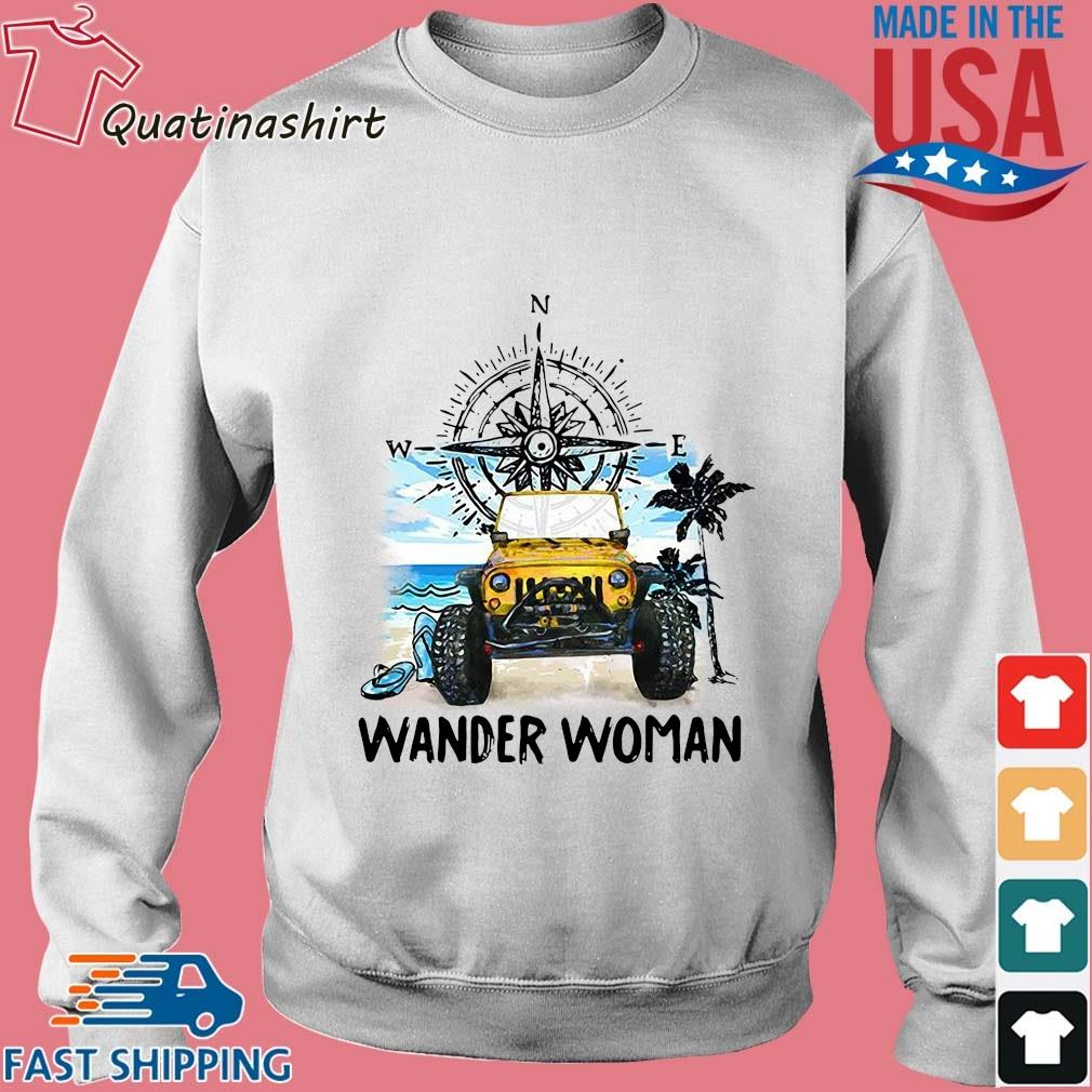Silly wander woman s Sweater trang