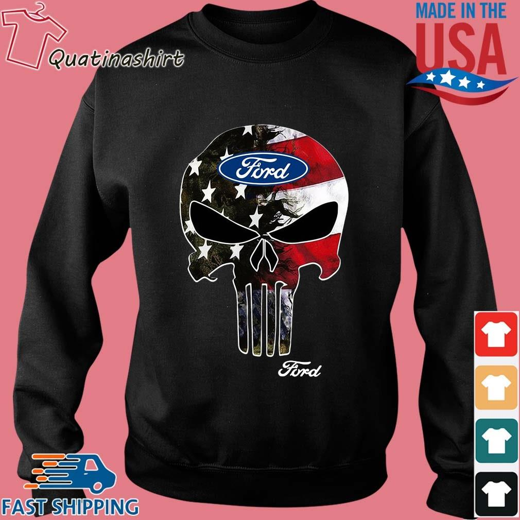 Skull Ford Logo Shirt Sweater den