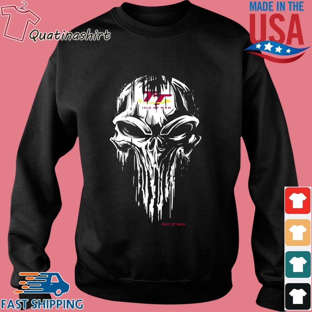 Skull Isle Of Man Logo Shirt Sweater den