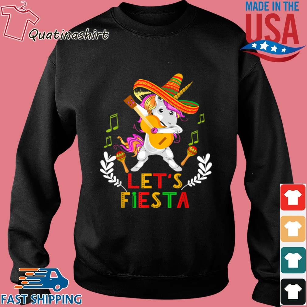 Unicorn Dabbing Let's Fiesta Shirt Sweater den