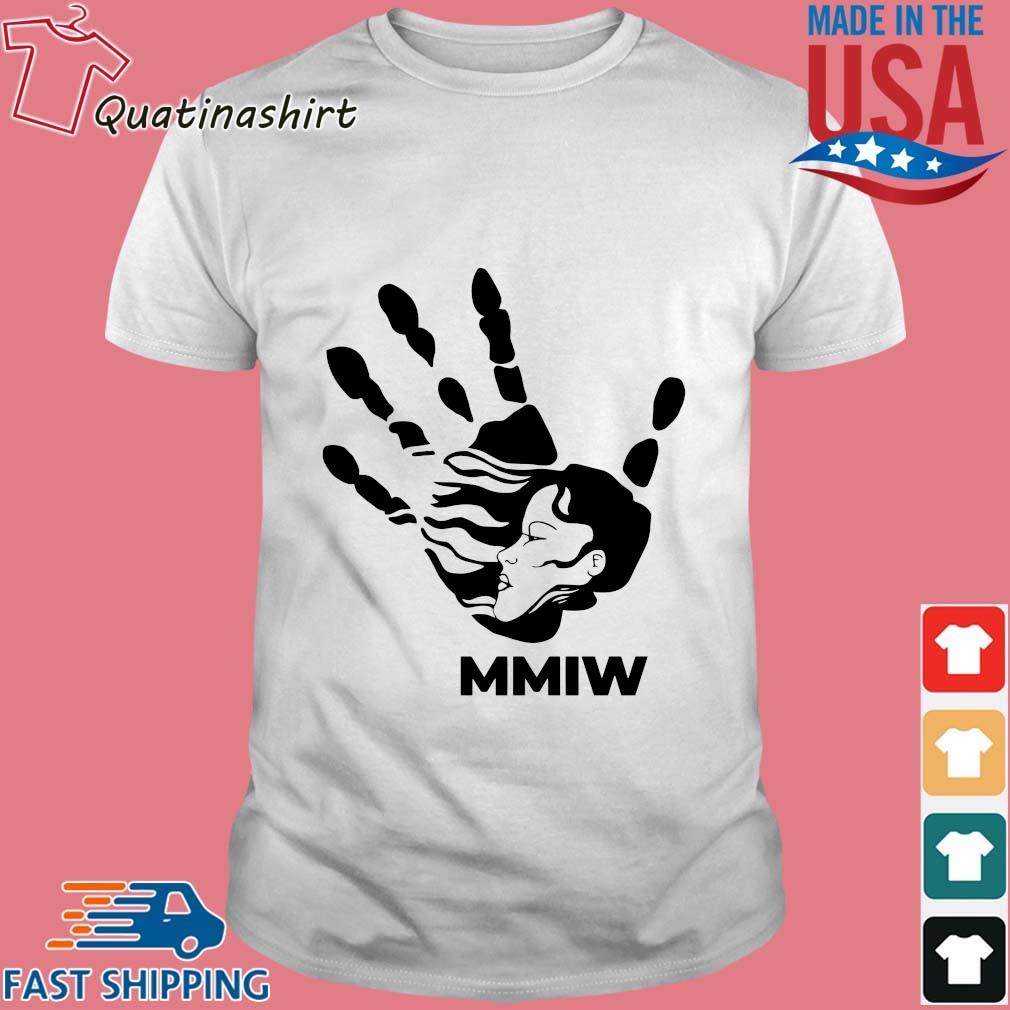 MMIW blood hand sign shirt