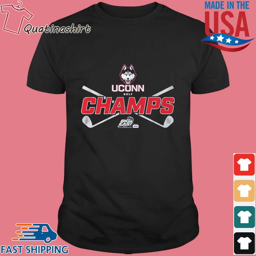 Uconn Golf Champs Shirt